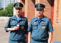 Торжественное построение в честь Дня России прошло в региональном МЧС