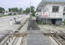 Ожидание-реальность: в Южно-Сахалинске сделали оригинальный тротуар