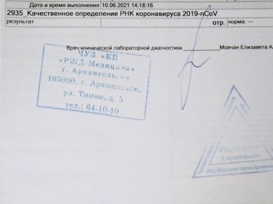 Приведены новые данные по заболеваемости COVID-19 в Архангельской области