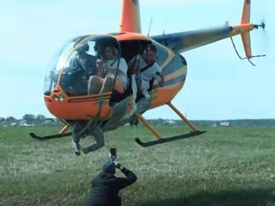 СК завел дело из-за видео с примотанным к вертолету мужчиной