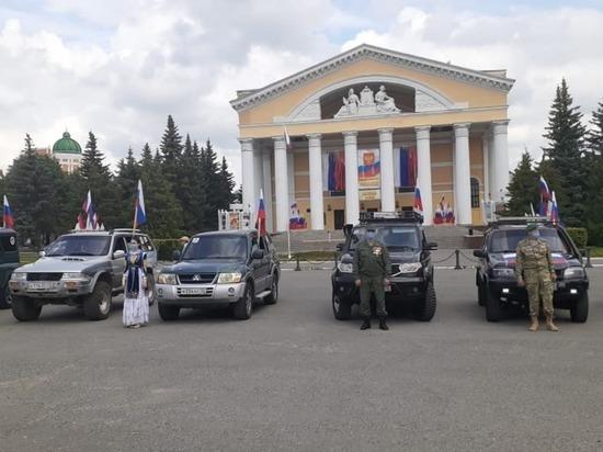 В День России в Йошкар-Оле состоялся автопробег