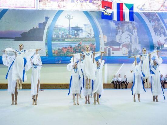 В Хабаровске в фестивале художественной гимнастики «Амурчаночка» приняли участие более 180 спортсменок