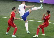 Сборная России уступила бельгийцам в стартовом для себя матче чемпионата Европы по футболу. Нашей команде не удалось сдержать напор Ромелу Лукаку и его партнеров. Итог - 3:0 в пользу сборной Бельгии.