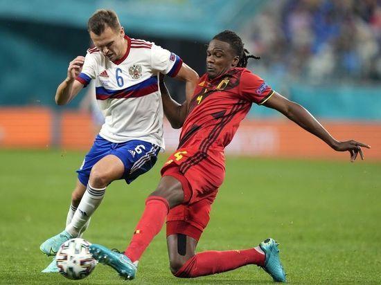 Матч Россия-Бельгия закончился со счетом 0:3