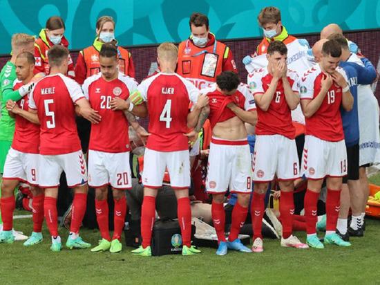 Врач сборной Дании рассказал подробности происшествия с Эриксеном