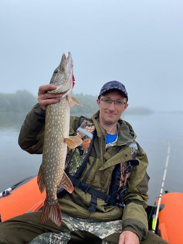 Рыбалка в Рязанской области: фото после снятия нерестового запрета