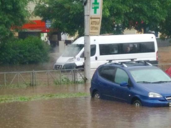 После потопа в Рязани появились впечатляющие видео