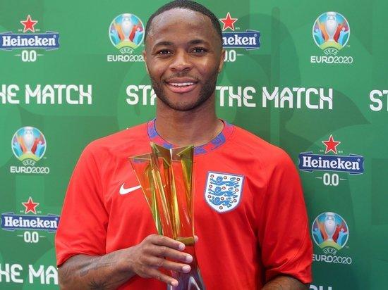 Стерлинг признан лучшим игроком матча сборных Англии и Хорватии