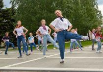 Петрозаводск отметил День России флешмобом