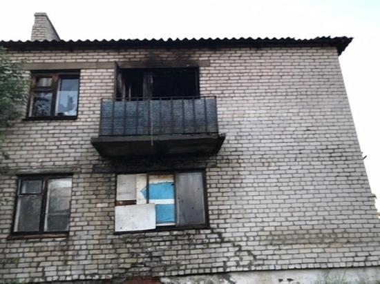 В Ленском районе сгорела квартира в кирпичном доме, постарадал мужчина