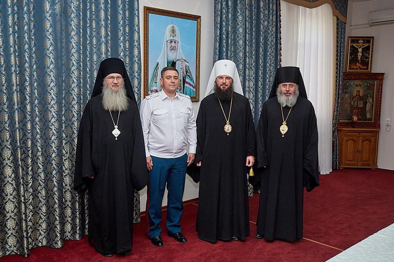 В Волгограде договор о сотрудничестве подписали епархия и МЧС, фото-2
