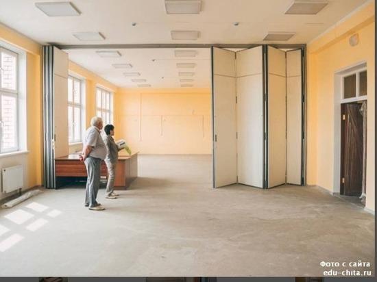 Власти Читы показали состояние крупнейшей новой школы в Октябрьском