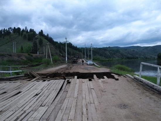 Власти определили сроки ремонта поврежденных мостов в Забайкалье