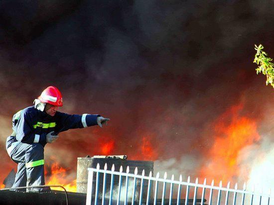 В Уфе сгорел аварийный дом, где жили 9 человек