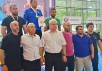 Борцы Бурятии взяли золото на ветеранском чемпионате в Ставрополье