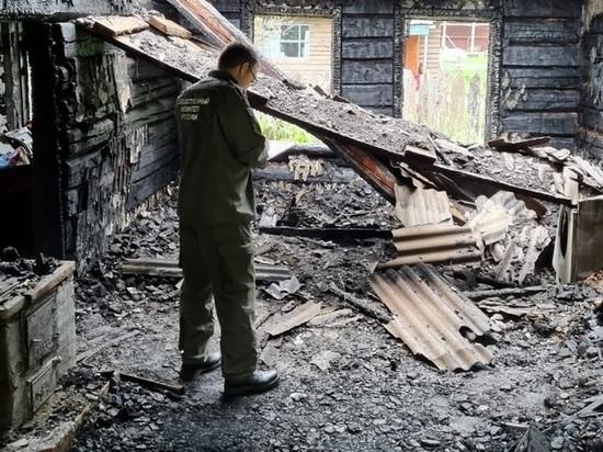 На Алтае возбудили дело по факту смерти трех детей во время пожара