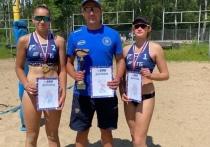 Обнинские пляжницы взяли золото чемпионата ЦФО в Брянске