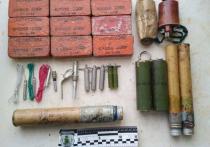 У жителя Кировского района изъяли взрывчатку