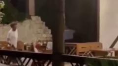 Очевидец снял видео стрельбы по российским туристам в Абхазии