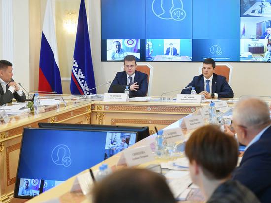 Артюхов и Чекунков обсудили поддержку КМНС и выдачу участков в Арктической зоне на заседании в Салехарде