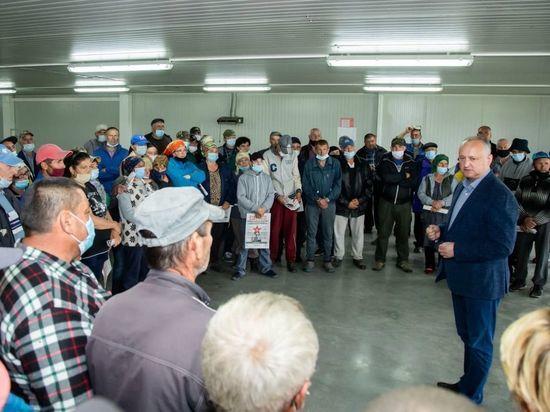Додон: Объединение левого фланга – это защита суверенитета Молдовы