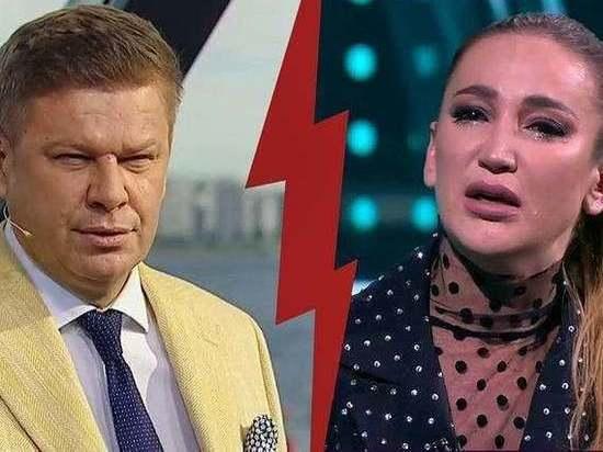 Конфликт журналиста Дмитрий Губерниева и певицы Ольги Бузовой остается открытым