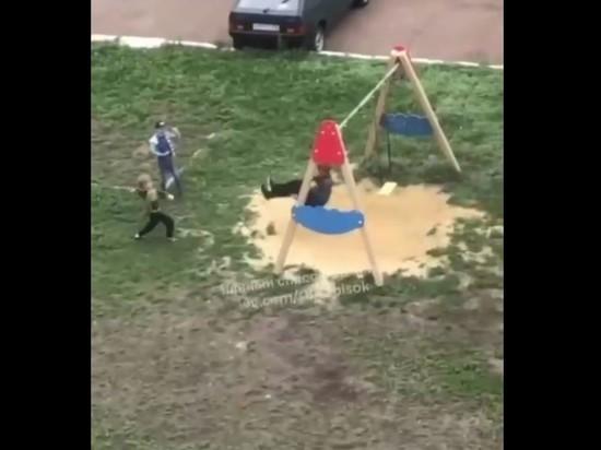 Башкирские полицейские установили личности мальчиков, закидавших камнями инвалида