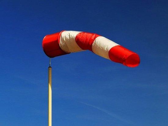 Жителей Башкирии предупреждают о ветре силой до 17 м/с