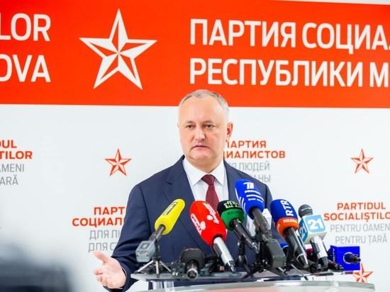 Игорь Додон: Молдаване должны быть хозяевами в собственном доме