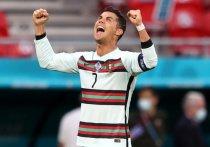 После матча первого группового этапа чемпионата Европы Венгрия – Португалия капитан португальской сборной Криштиану Роналду стал обладателем сразу четырех новых рекордов.