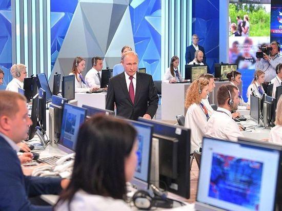 Песков сообщил об уже ведущейся подготовке к прямой линии с Путиным
