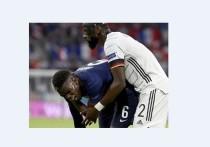 Защитник сборной Германии Антонио Рюдигер укусил полузащитника команды Франции Поля Погба