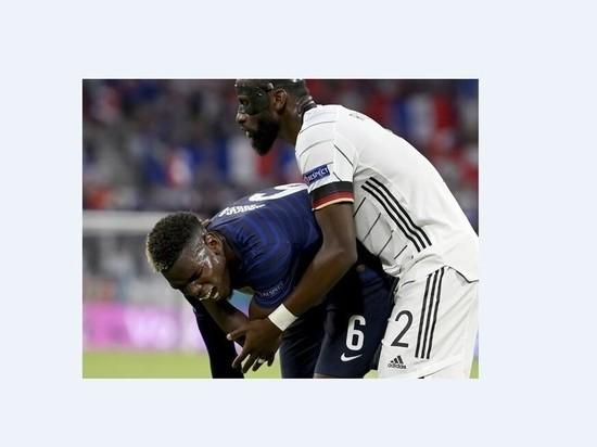 Футболист сборной Германии укусил Погба в матче Евро-2020