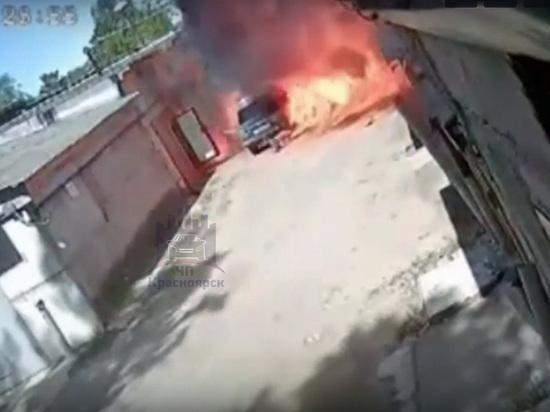 В Железногорске Красноярского края мужчина погиб из-за взрыва газового баллона в машине ВАЗ-2106