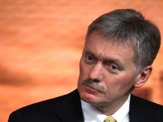 """Песков отметил """"позитив"""" в изменении американской риторики"""