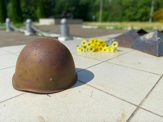 В районе деревни Маршуково под Тулой обнаружили останки красноармейцев