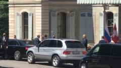 Прибытие Сергея Лаврова на виллу Ла Гранж сняли на видео