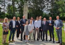 Германия: «Сад памяти» посадили в Лейпциге в День России