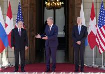 Президент Швейцарии Ги Пармелен сегодня встретился с коллегами из России и США: Владимир Путин и Джо Байден в эти минуты проводят переговоры за закрытыми дверьми в Женеве