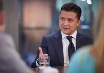 Президент Украины Владимир Зеленский заявил о том, что если Запад прекратит поддерживать Киев в конфликте в Донбассе, Украине не останется ничего другого, как создать мощнейшую армию в Европе и решать вопрос с непризнанными республиками самостоятельно