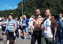 В среду перед матчем сборных России и Финляндии в рамках Евро-2020 в Петербурге ждали фанатов из Суоми