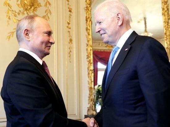 В Белом доме опровергли кивок Байдена как знак доверия Путину