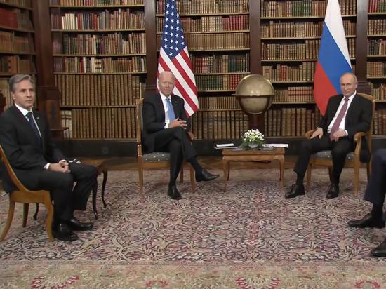 В переговорах Путина и Байдена объявили перерыв