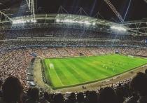 Гринписовец упал с неба на поле посреди матча EURO 2020