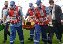 Стало известно, какую травму получил Фернандес на матче с финнами