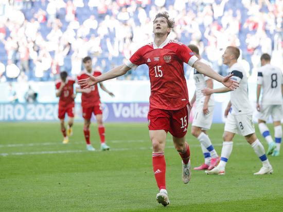 Алексей Миранчук признан лучшим игроком матча Финляндия-Россия