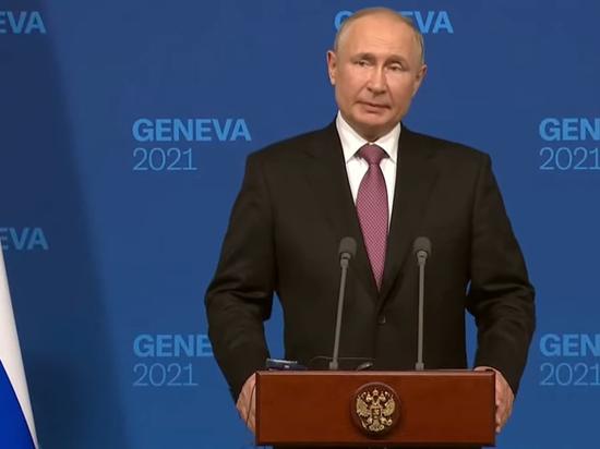 Президент Владимир Путин в ходе пресс-конференции по итогам саммита с лидером США Джо Байденом в Женеве заявил, что тема урегулирования в Донбассе и об Украине с точки зрения ее возможного вступления в НАТО были подняты в ходе беседы
