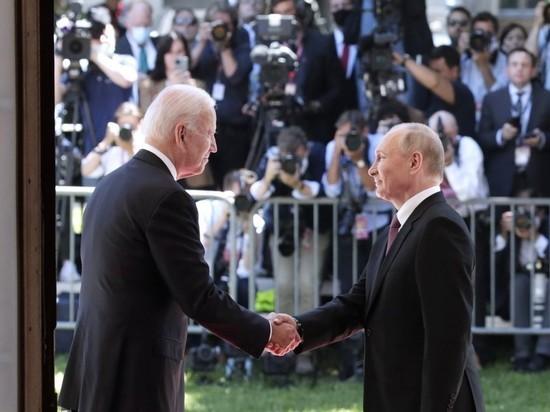"""Путин похвалил Байдена за поведение на саммите: """"Человек опытный"""""""