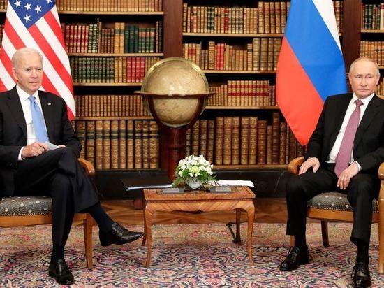 Кремль опубликовал совместное заявление Путина и Байдена по итогам саммита