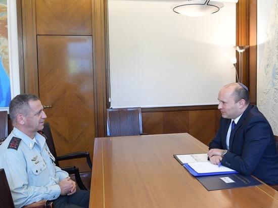 Нафтали Беннет провел первую рабочую встречу с начальником Генштаба